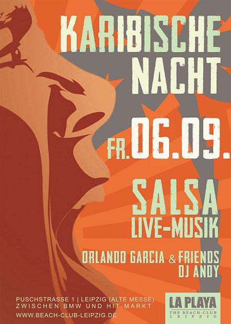 salsa in deutschland salsa party karibische nacht im la playa beach club am. Black Bedroom Furniture Sets. Home Design Ideas