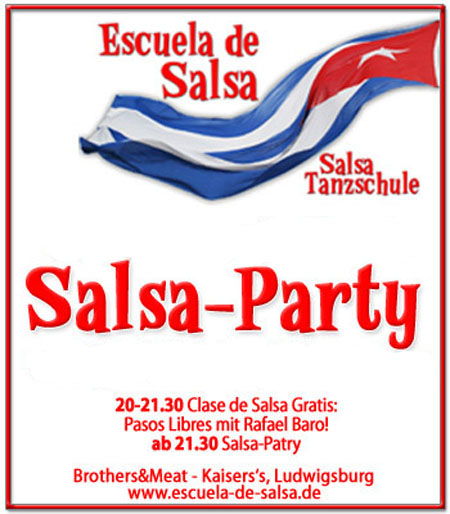 salsa in deutschland salsa party salsa party brothers and meet am. Black Bedroom Furniture Sets. Home Design Ideas